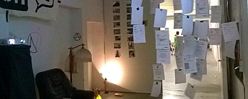 Freiraum für eine Nacht: L!Z-Installation bei der Theaternacht in Bonn