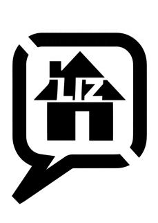 Neues L!Z-Stencil mit Sprechblase und Haus